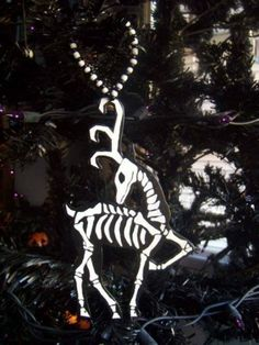 skeleton Reindeer