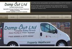 Damp Ôut Limited Lowestoft we are specialists in damp proofing, timber treatment, timber renewal, Frontlineweb suffolk