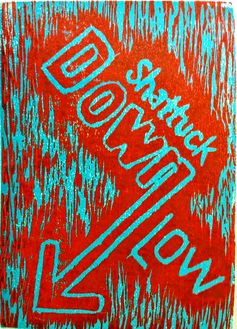 Down Low, 2015 Woodcut, 5