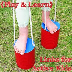 {Play & Learn} A collection of ideas for Active Kids