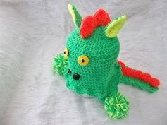 Creating Beautiful Things in Life: Dino Tales, Earflap Hat Pattern