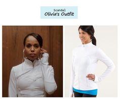 """Scandal Season Finale 222: Olivia Pope's (Kerry Washington) Lululemon """"Forme"""" Jacket #tvfashion #outfits #fashion #style"""