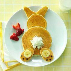 Bye-Bye Bunny Pancake