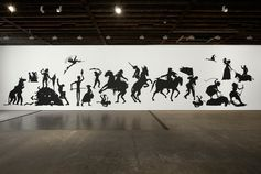Kara Walker, The Jubilant Martyrs of Obsolescence and Ruin, 2015. ©KARA WALKER/COURTESY THE ARTIST AND VICTORIO MIRO