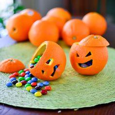 Mandarines halloween