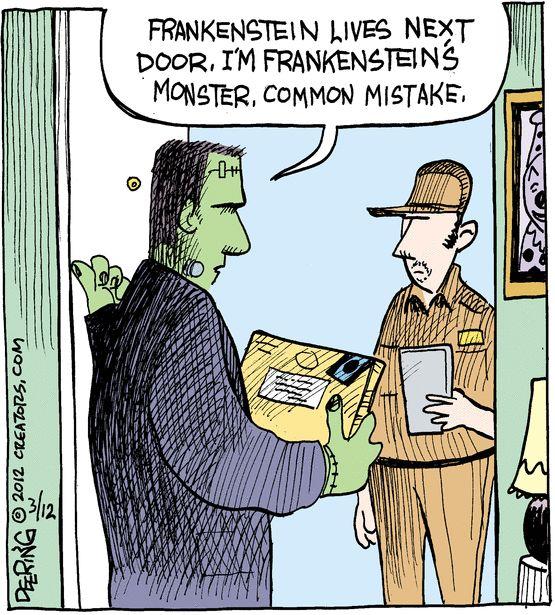 Frankenstein vs. Frankenstein's Monster