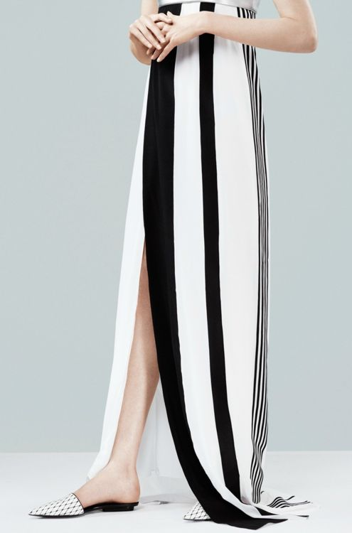 Spring 2014 Fashion Trend: No blurred lines here! Black + white is THE trend to try next season