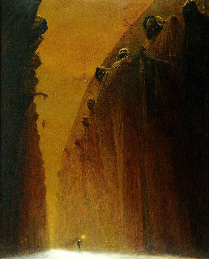 Beksinski, Zdzislaw (1929-2005) - 1972 Valley of the Dead