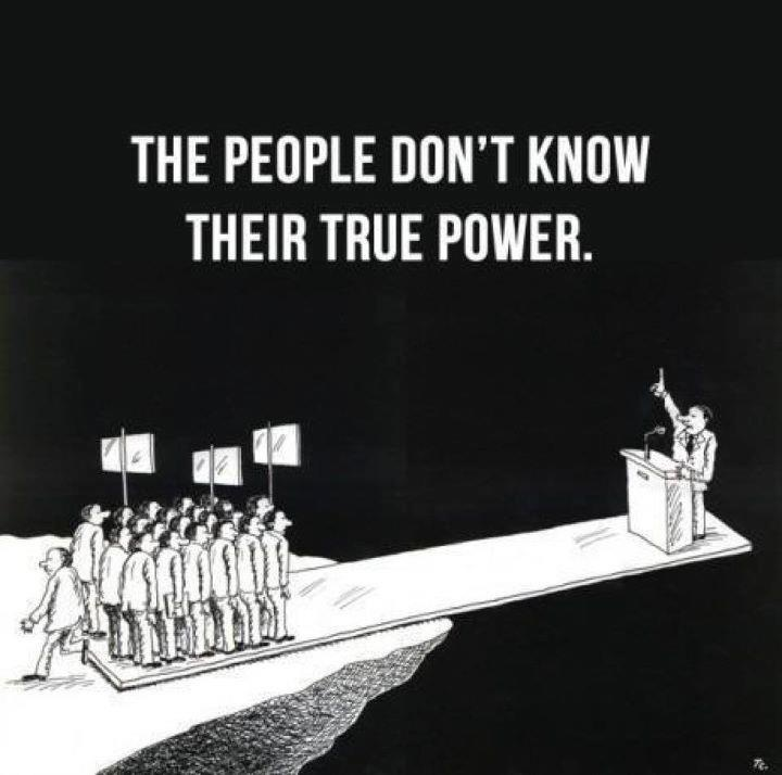 The people have the power.