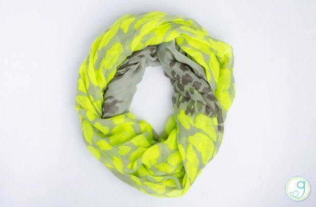 GroopDealz | Neon Leopard Print Infinity Scarf - 4 Colors
