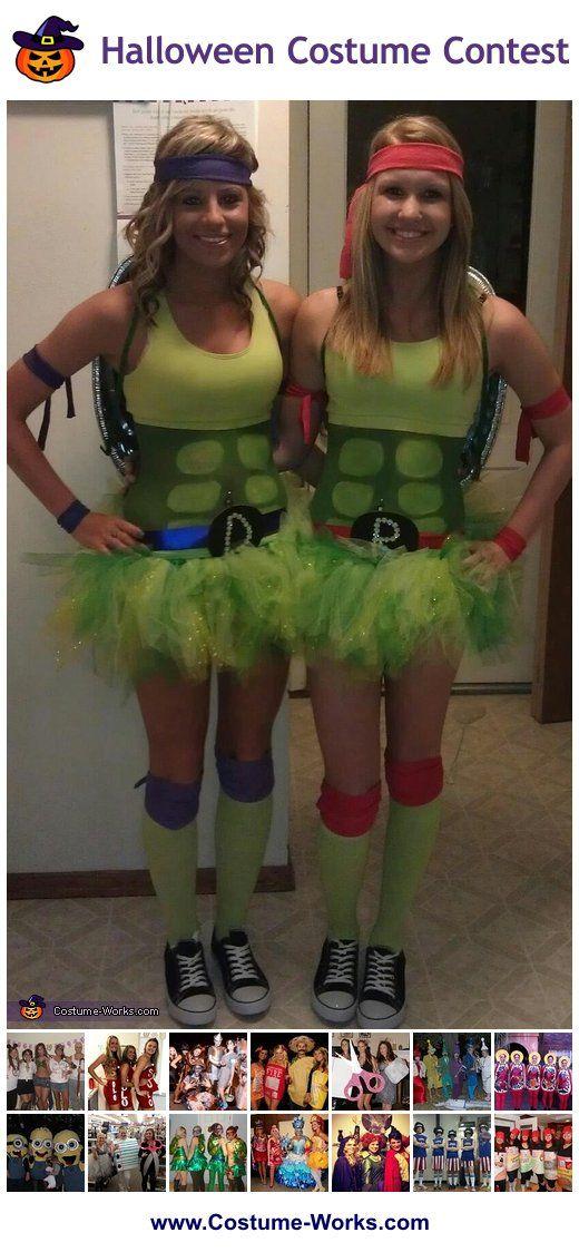 Ninja Turtles - a lot of DIY costume ideas for groups!