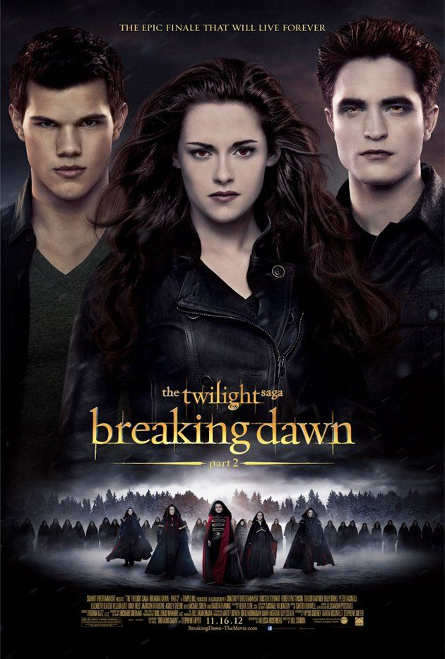Breaking Dawn Part 2 Poster. #breakingdawn #twilight