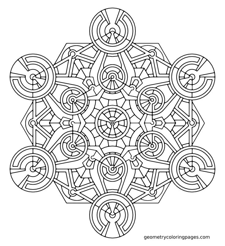 page from geometrycoloringpages com geometry