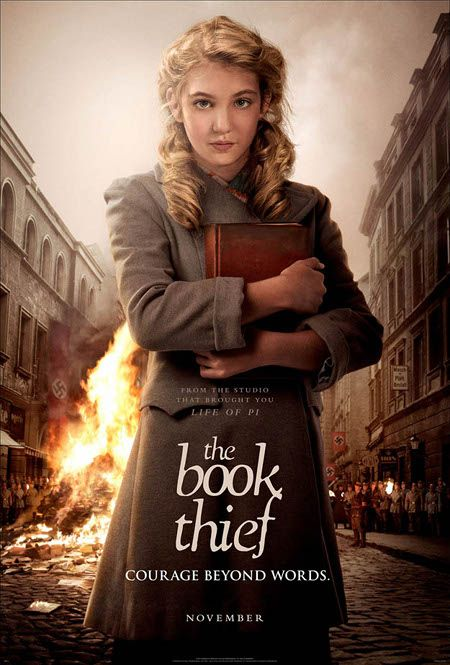 The Book Thief reveals first poster... my favourite book will soon become my favourite movie.