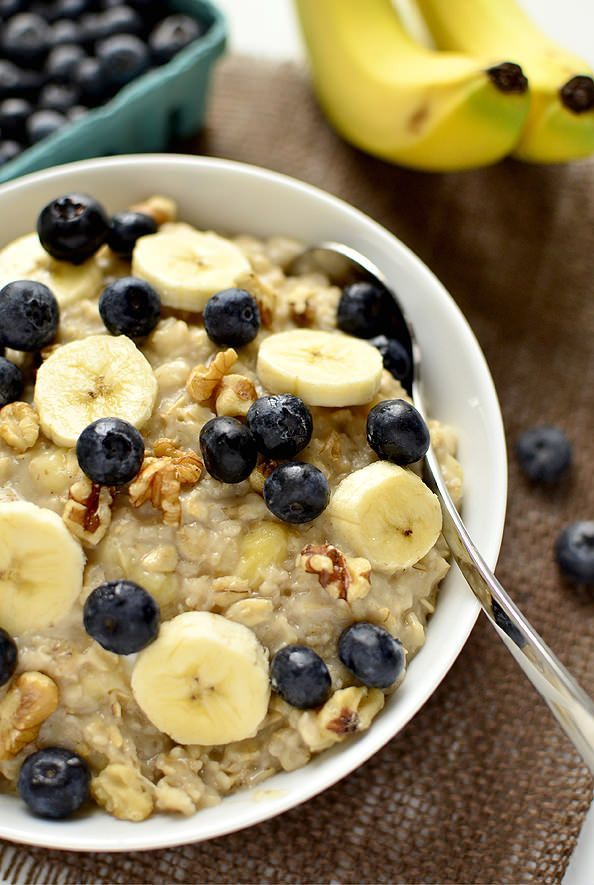 Oatmeal helps lose weight - see how