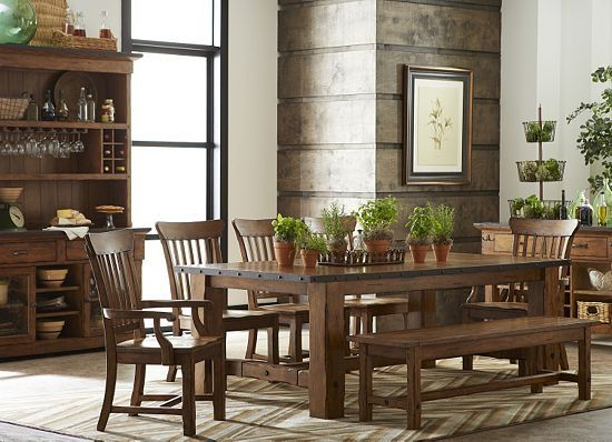 havertys rustic dining room table dining room table and chairs on rh pxtgp p7 de