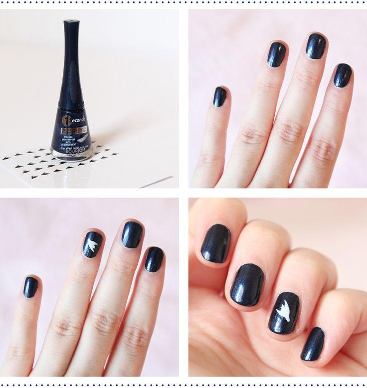 Tuto manucure oiseau - Kit nail art inspiration cubisme - Bourjois