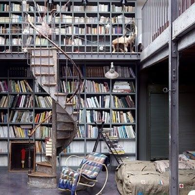 Just my kind of reading room
