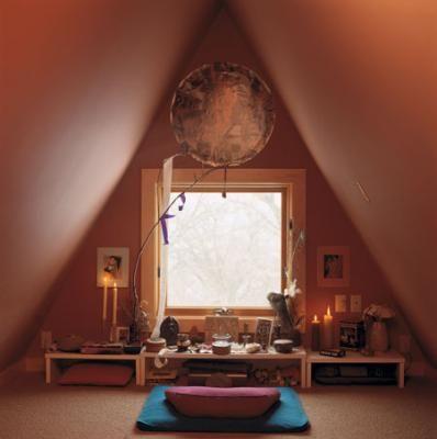 ideas para espacios de meditación en casa… | Todo llega, todo pasa y ...