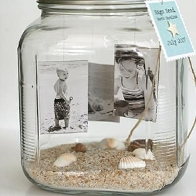 Memories in a Jar... what a cool idea to display your good times. I always seem to forget when we did xyorz... this would solve that problem!