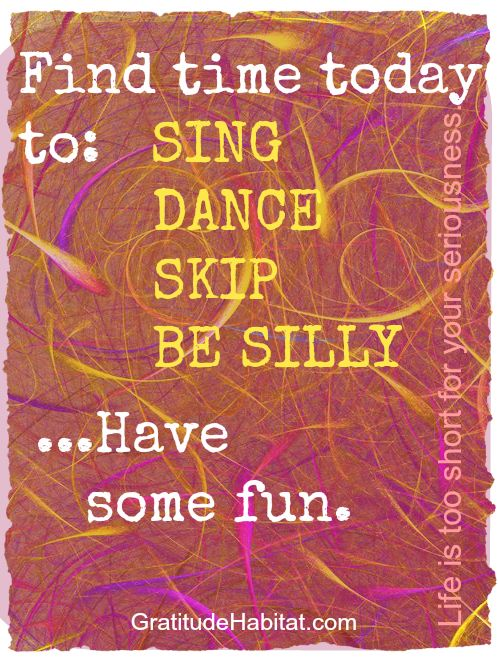 "SING, DANCE, SKIP, Find time to have fun.✔#Like ✔""#Share"" ✔#Comment ✔#Repost ✔#Friend ✔#Follow me Always posting #Awesome Stuff! ●► www.facebook.com/essense.secrets"