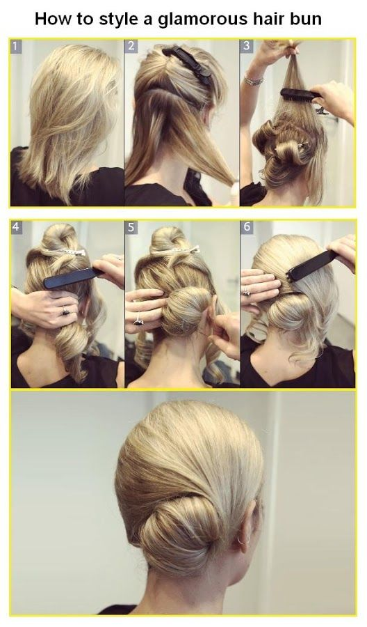 How to Make a glamorous hair bun | Shes Beautiful
