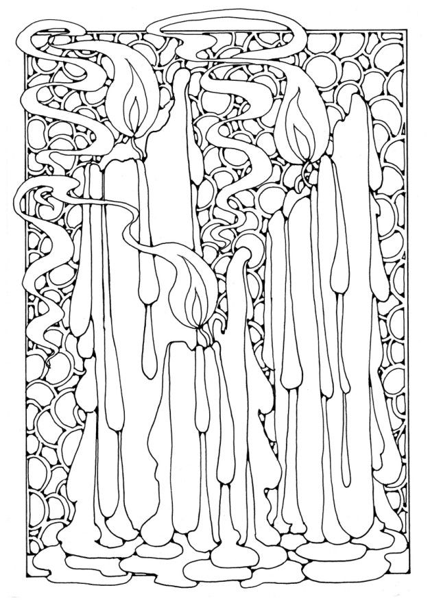 wiccan coloring pages for adults coloring pages