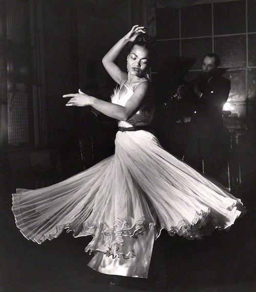 Eartha Kitt, 1951 (Russell Westwood)