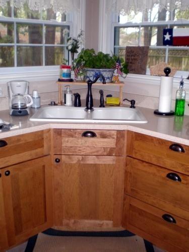 title   Corner Kitchen Sink Base Cabinet