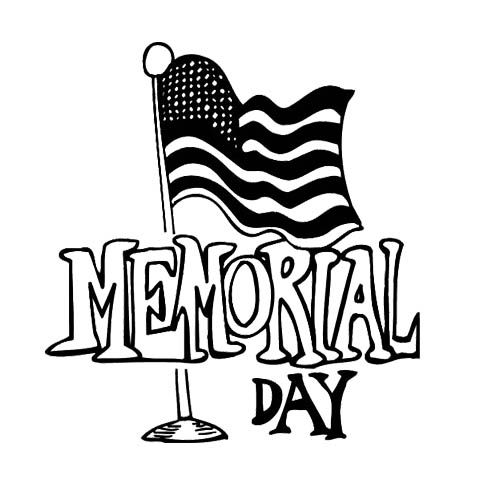 flag memorial day coloring page for kids memorial day porch party