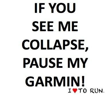 Running humor. @Stephanie Raley Harmon Yaeger this reminds me of your CIM race this year!