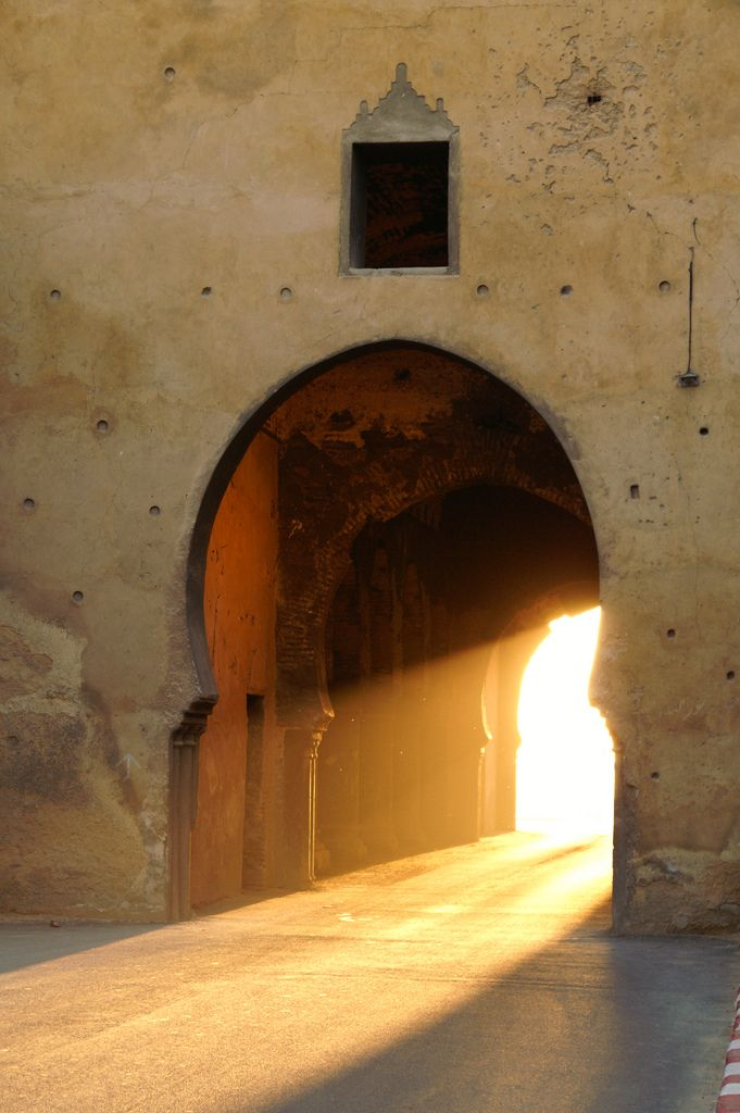 The Door to Morning. Meknes, Morocco - I've been there!