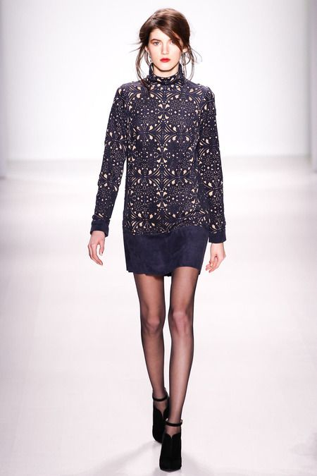 Tadashi Shoji | Fall 2014 Ready-to-Wear Collection | Style.com #NYFW #MBFW