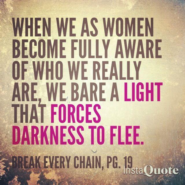 Let your light shine. #quote #book #BreakEveryChain | via @Emonne Markland