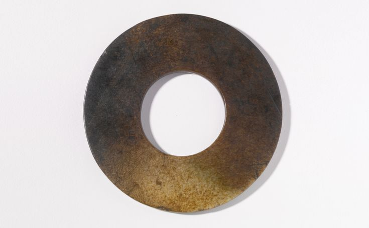 An archaic jade disc (Bi), Neolithic period or later