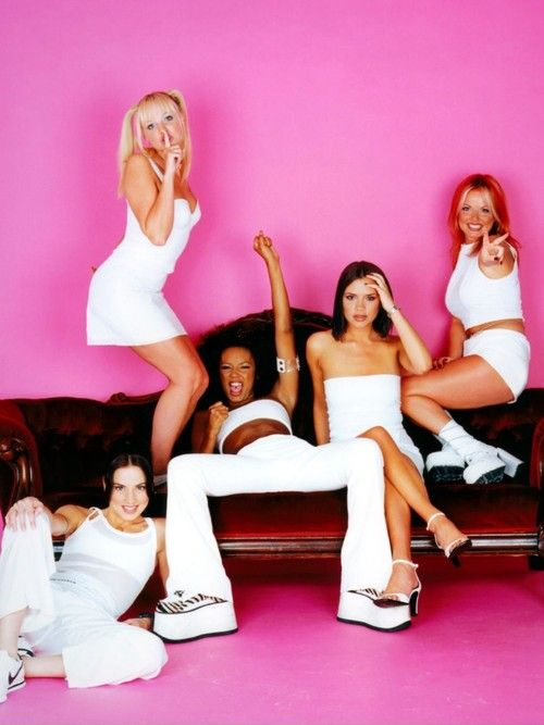The Spice Girls were a British pop girl group formed in 1994. The group consisted of five members, who each later adopted nicknames given to them by fans in a magazine contest. Melanie Brown became Scary Spice, Melanie Chisholm became Sporty Spice, Emma Bunton became Baby Spice, Geri Halliwell became Ginger Spice, and Victoria Adams (later Beckham) became Posh Spice.