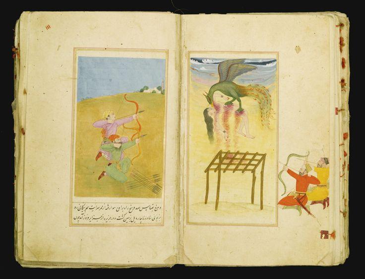 Shaykh Inayat Allah Kanbu of Lahore, Bihar-i-Danish ('The Romance of Jahandar Sultan and Bahravar Banu'), Mughal, late 17th/early 18th century | Lot | Sotheby's