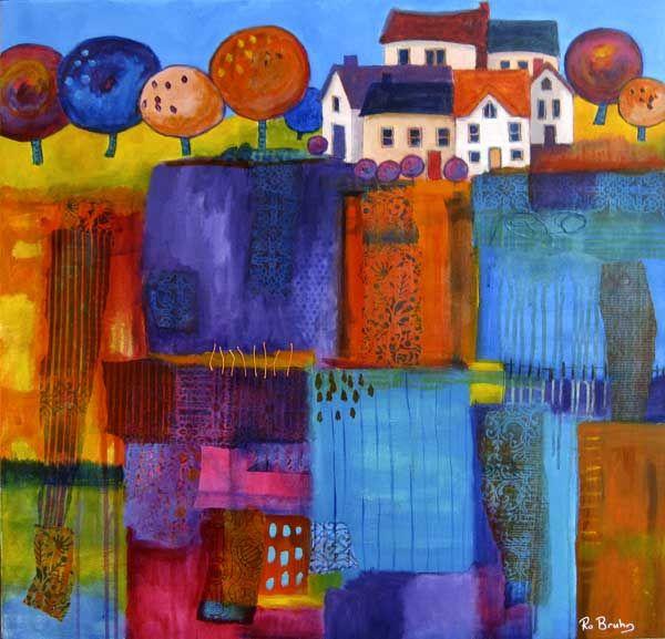 Village Fields by Ro Bruhn