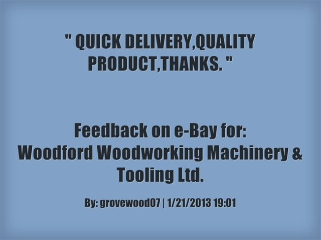 QUICK DELIVERY,QUALITY PRODUCT,THANKS. ~grovewood07