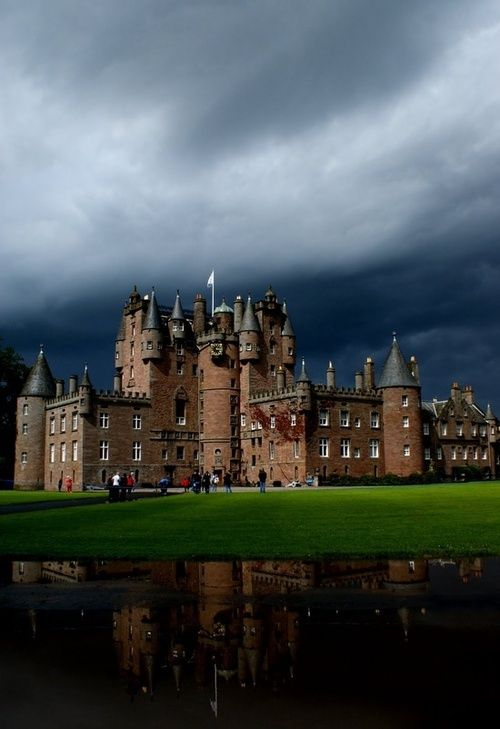 Medieval, Glamis Castle, Angus, Scotland photo via elma