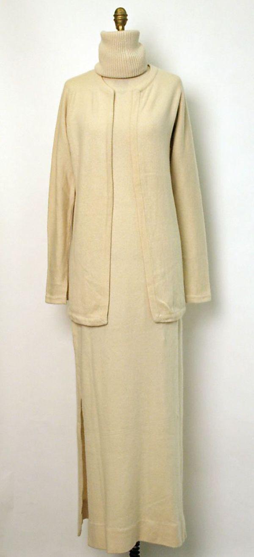 knitGrandeur: Trend Watch: The Long Column Knit Dress
