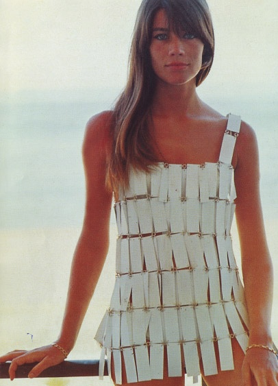 Francoise Hardy in Paco Rabanne, 1966