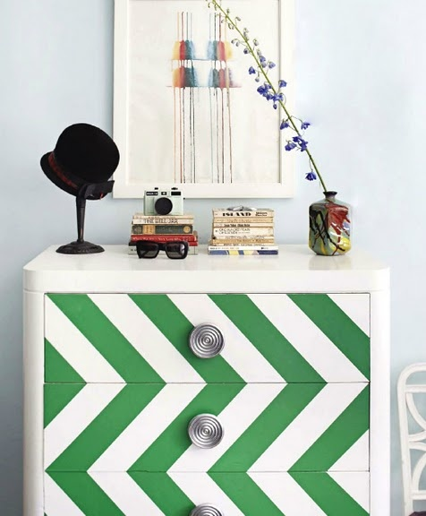 dresser attributed to Nick Olsen via House Beautiful