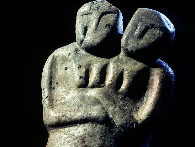 Archaeologists believe this particular artifact may be more than 8,000 years old. Ancient figurines like these are found all over the world, suggesting they played a religious, magical or totemistic role in pre-state societies.