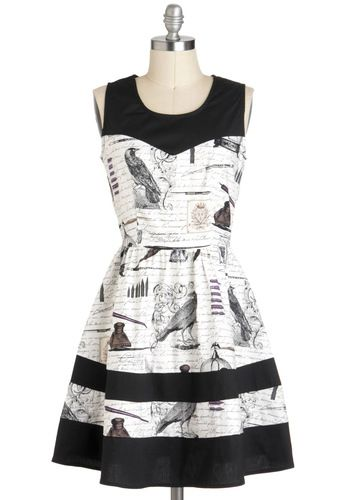 Nevermore Lovely Dress, #ModCloth OMG I LOVE LOVE LOVE this dress