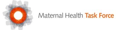 Image result for maternal health task force