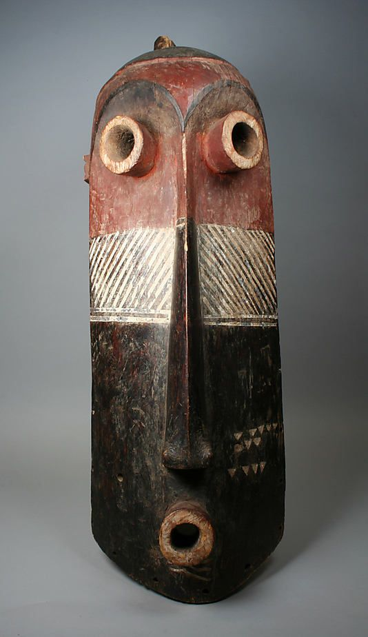 Mask (Pumbu) [Pende peoples culture]. Democratic Republic of the Congo, 20th century.