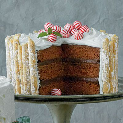Peppermint-Hot Chocolate Cake Recipe < Most Pinned Christmas Dessert Recipes - Southern Living
