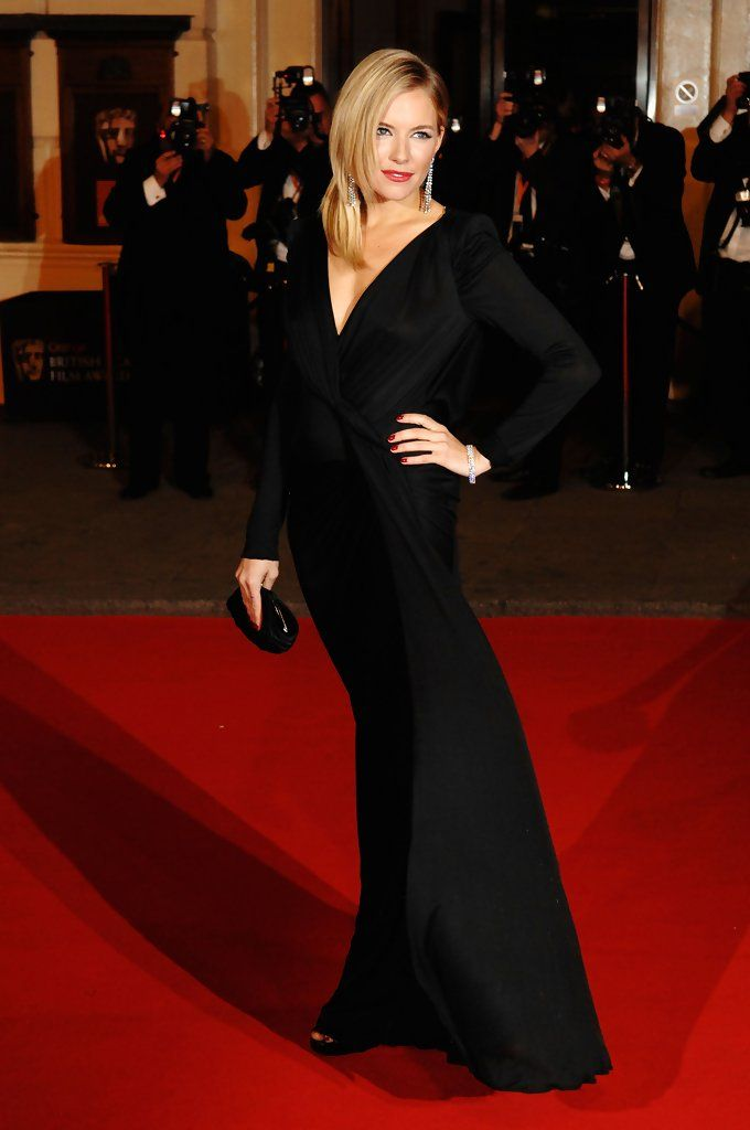 Sienna Miller - The Orange British Academy Film Awards - Red Carpet Arrivals
