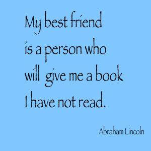 Book Quote -Abraham Lincoln